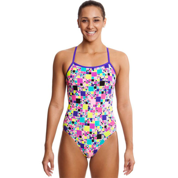 Funkita - Sugar Cube - Ladies Single Strap One Piece