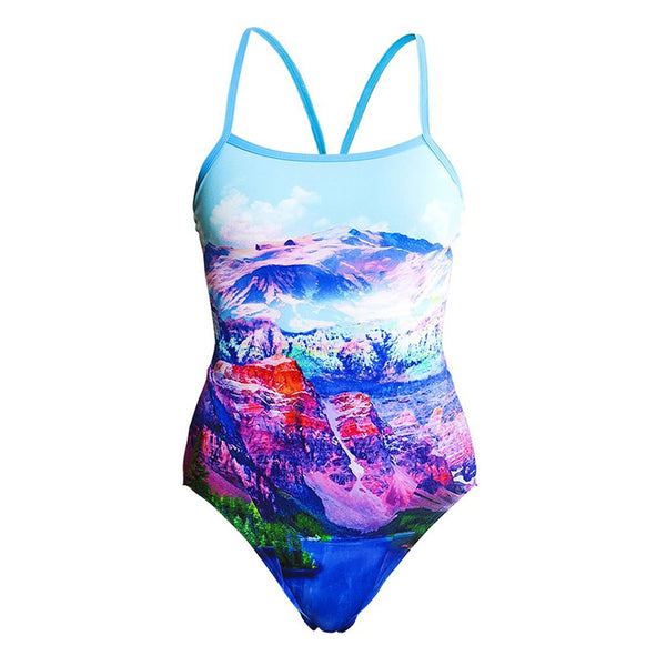 Funkita - Swiss Bliss - Ladies Single Strap One Piece