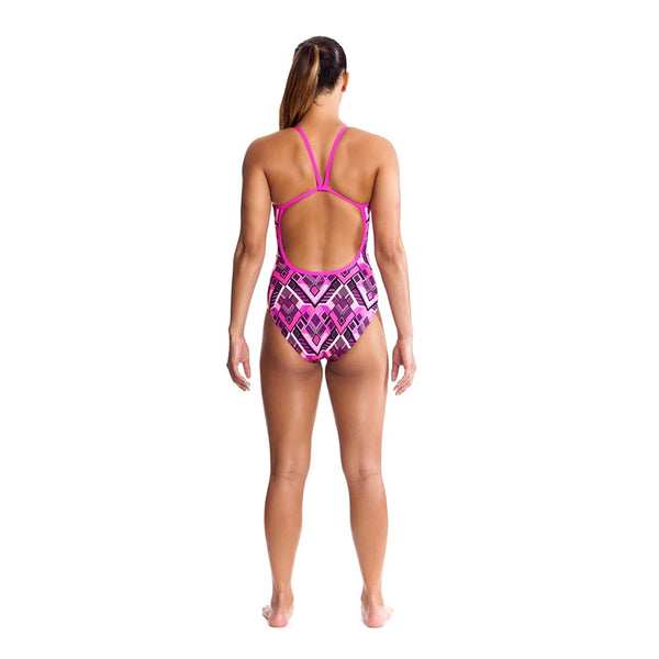 Funkita - Tribal Delight - Ladies Single Strap One Piece