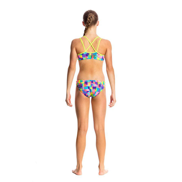 Funkita - Madame Monet - Girls Criss Cross Two Piece
