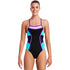 Funkita - Mint Queen - Ladies Colour Block One Piece