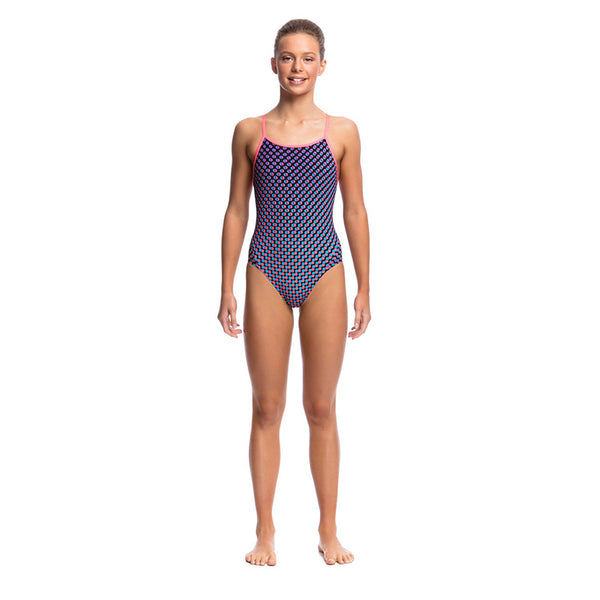 Funkita - Miss Freckle - Girls Diamond Back One Piece