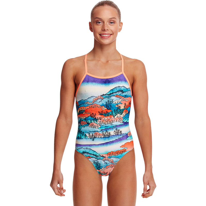 Funkita - Misty Mountain - Girls Strapped In One Piece