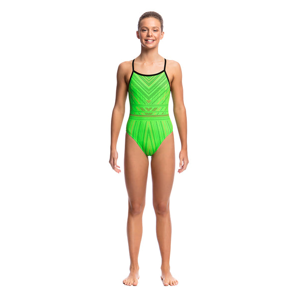 Funkita - Needle Work - Girls Single Strap One Piece