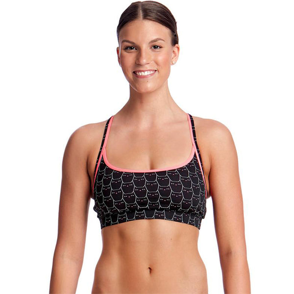 Funkita - Night Cat - Ladies Sports Top