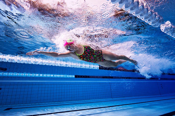 Funkita - Night Swim - Ladies Diamond Back One Piece