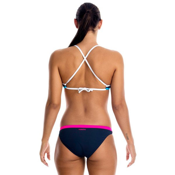 Funkita - Ocean Blast - Ladies Tie Down Bikini Top