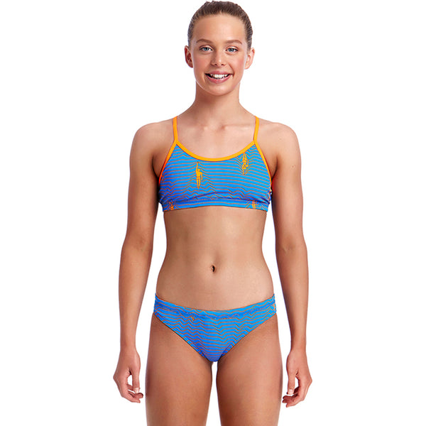 Funkita - Ocean Swim - Girls Racerback Two Piece