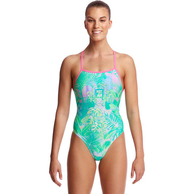Funkita - Ocean View - Ladies Tie Me Tight One Piece