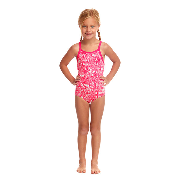 Funkita - Painted Pink - Toddler Girls Eco One Piece