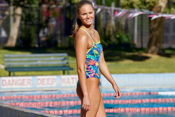 Funkita - Palm Off - Ladies Eco Strapped In One Piece