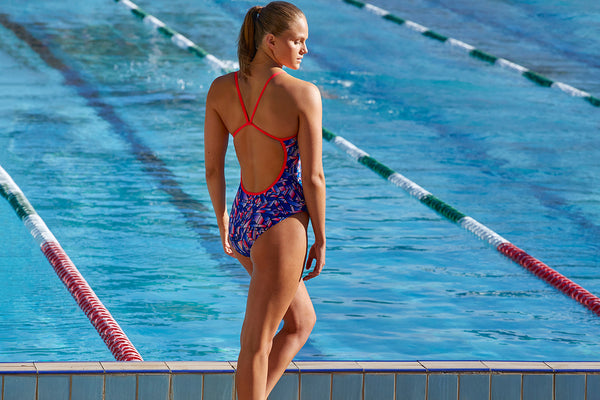 Funkita - Pane In The Glass - Ladies Single Strap One Piece