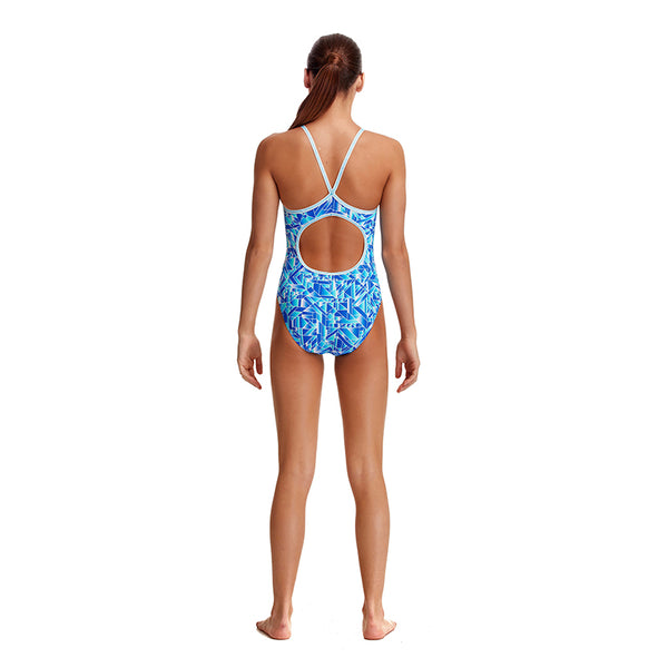 Funkita - Pane Train - Girls Diamond Back One Piece