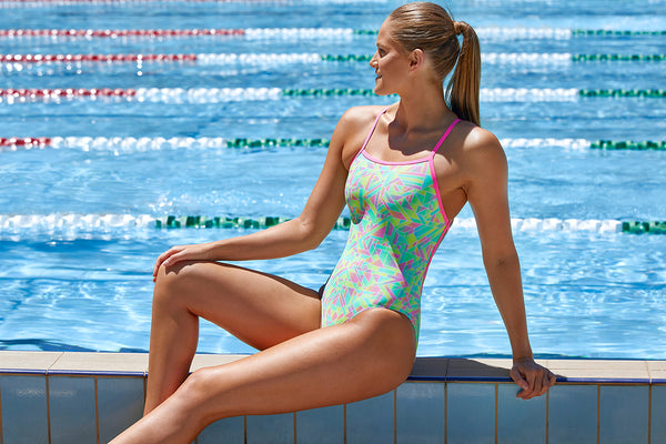 Funkita - Pastel Parts - Ladies Strapped In One Piece