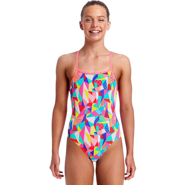 Funkita - Pastel Patch - Girls Strapped In One Piece