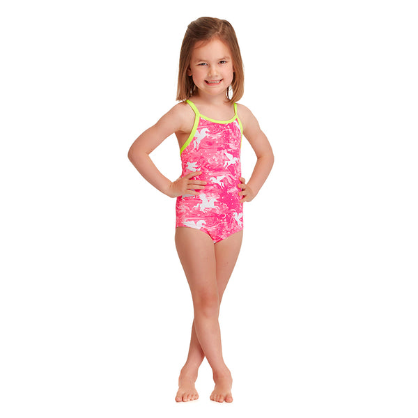 Funkita - Pegasus Party - Toddler Girls Printed One Piece