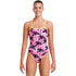 Funkita - Pop Palms - Ladies Cut Away Tie Back One Piece