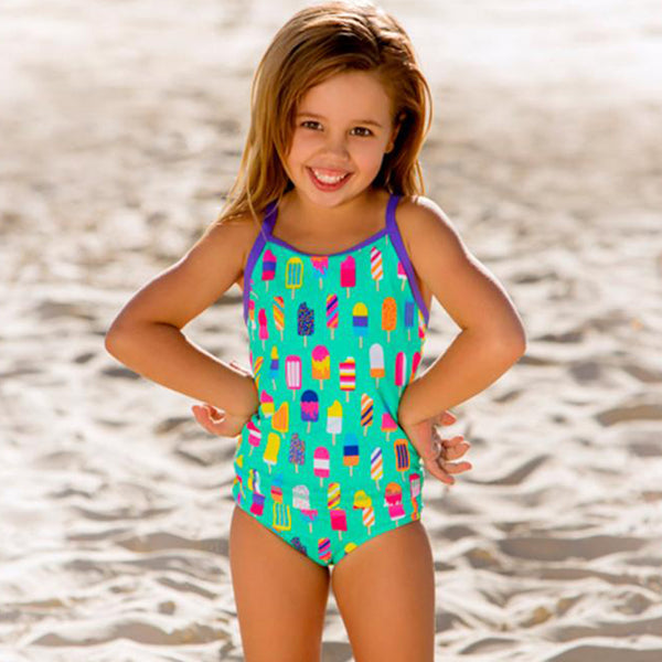 Funkita - Popsicle Parade - Toddler Girls Tankini Two Piece