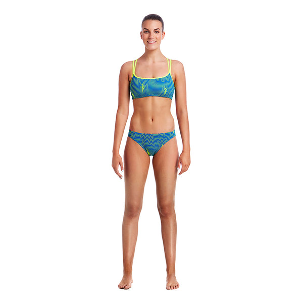 Funkita - Ripple Effect - Ladies Bibi Banded Bikini Briefs