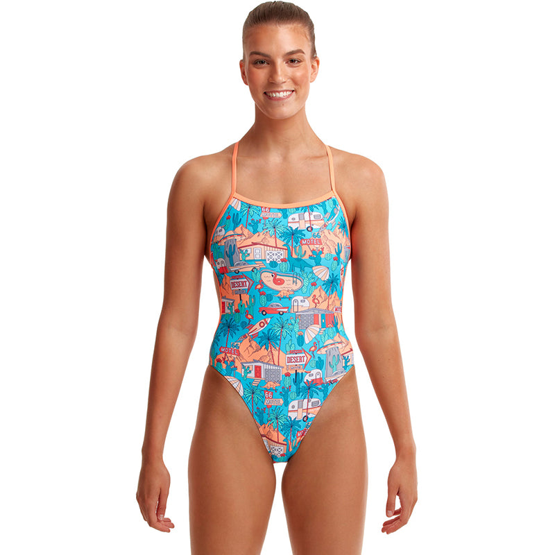 Funkita - Road Tripper - Ladies Twisted One Piece