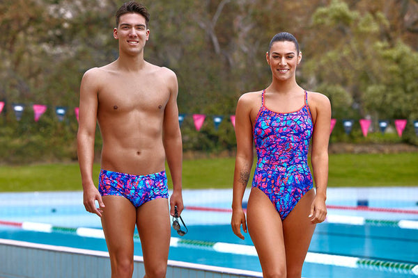 Funkita - Rusted - Ladies Diamond Back One Piece