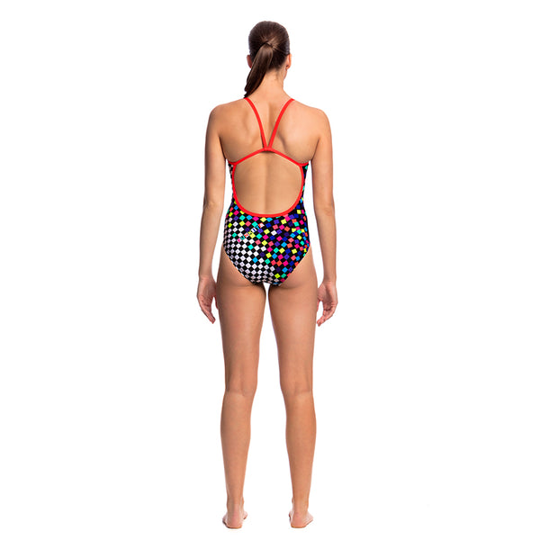Funkita - Scatter Brain - Ladies Single Strap One Piece