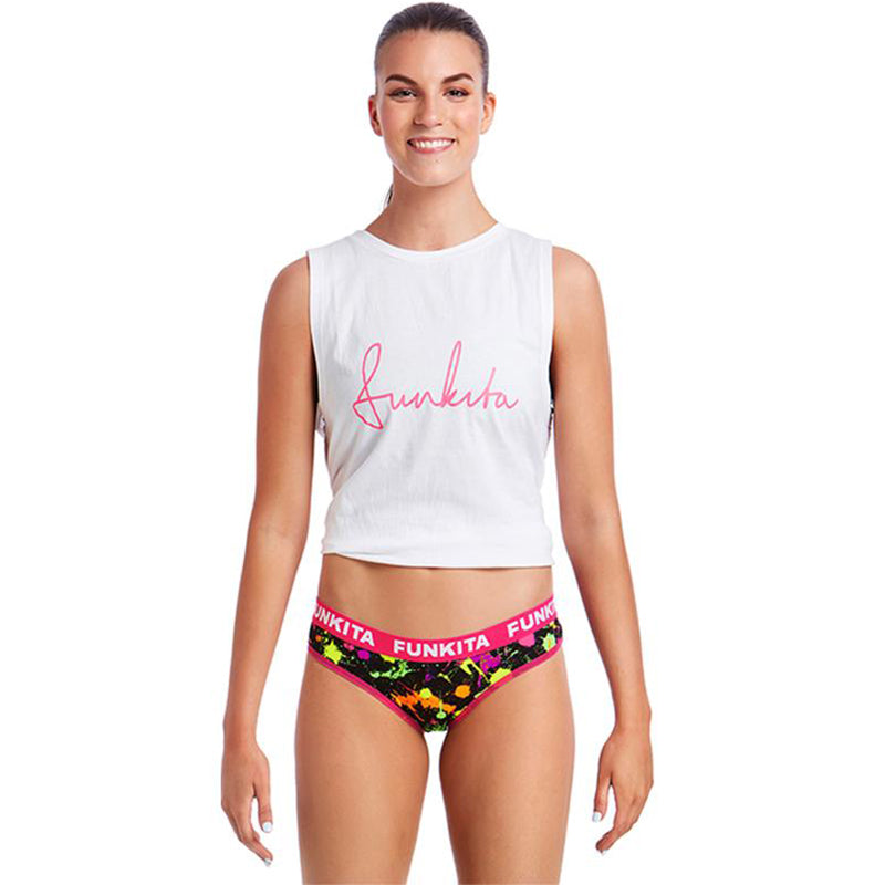 Funkita - Splatter Attack Brief Ladies Underwear
