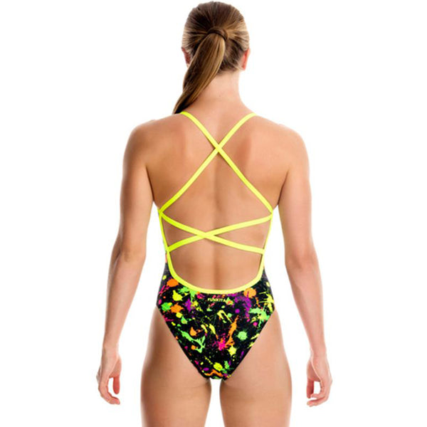 Funkita - Splatter Attack - Girls Strapped In One Piece