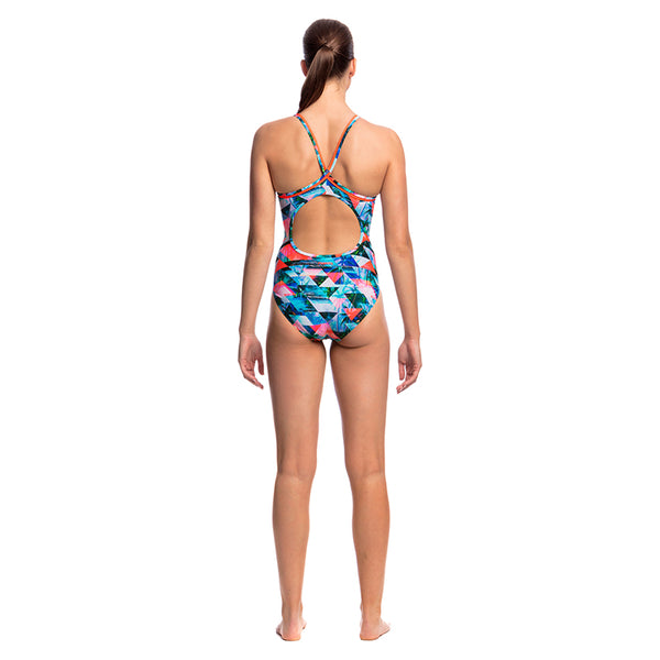 Funkita - Split Scene - Ladies Diamond Back One Piece