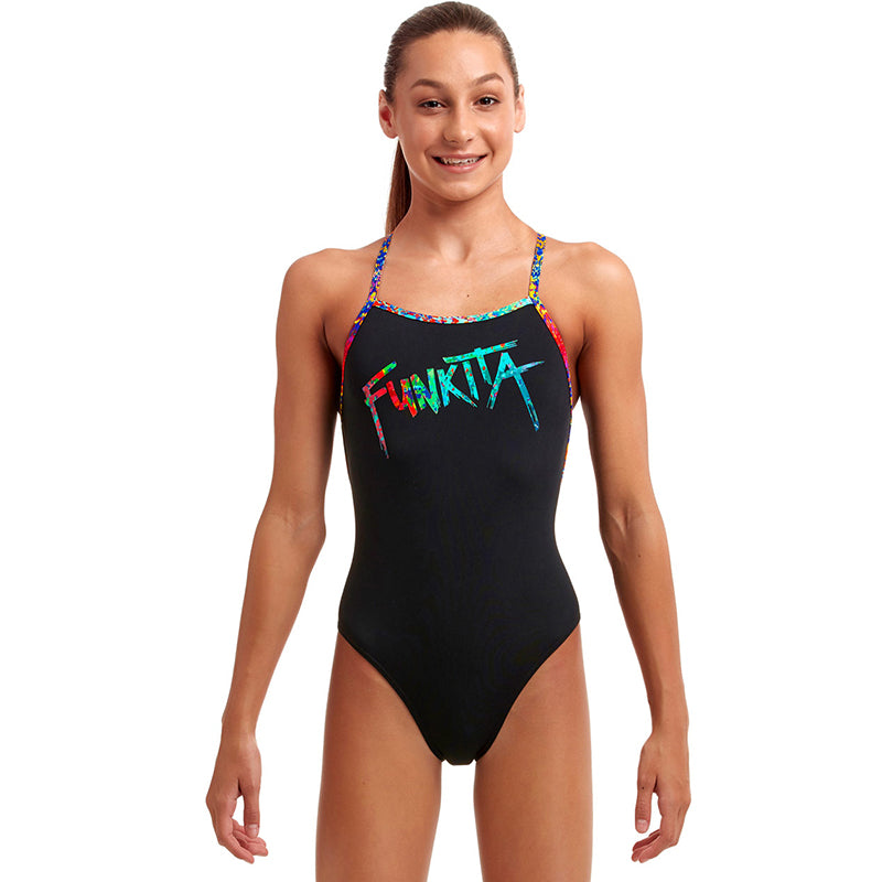 Funkita - Spray Tagged - Girls Strapped In One Piece