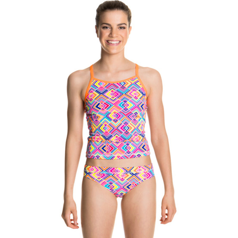 Funkita - Square Bare - Girls Tankini & Brief