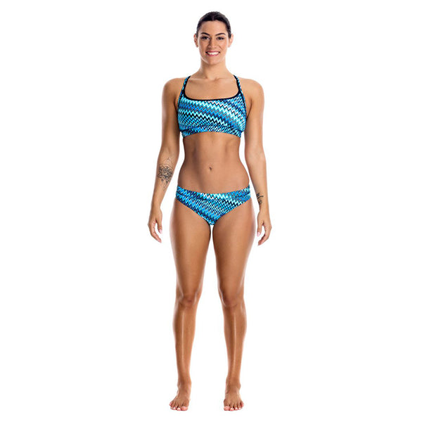 Funkita - Static Blur - Ladies Bikini Sports Brief