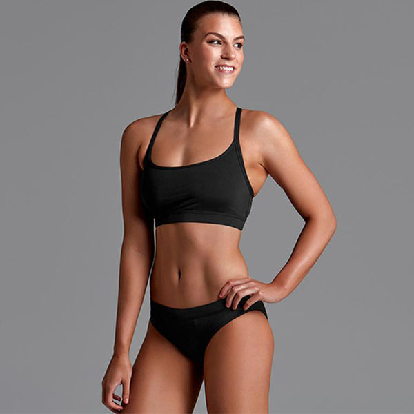 Funkita - Still Black - Ladies Bikini Sports Brief