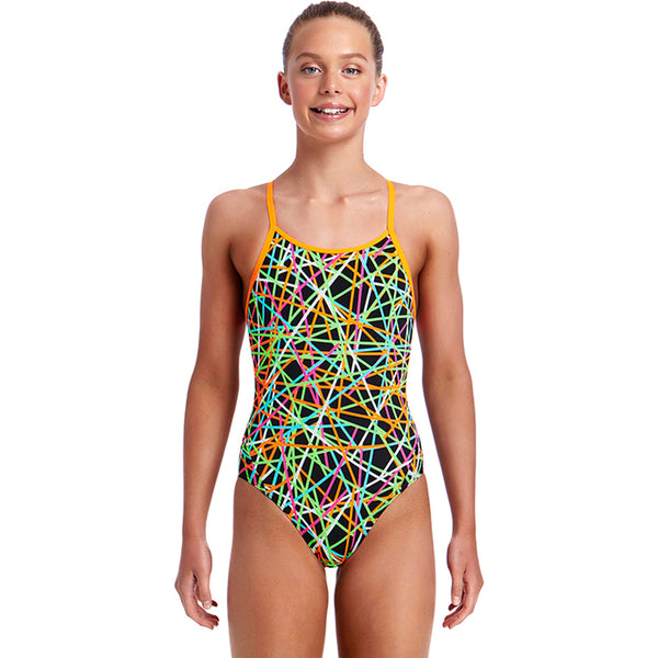 Funkita - Strapped In - Girls Diamond Back One Piece