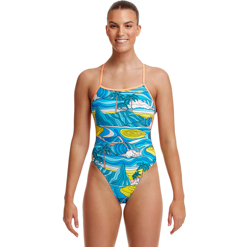 Funkita - Summer Bay - Ladies Eco Twisted One Piece