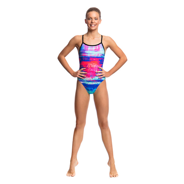 Funkita - Summer Sunset - Girls Single Strap One Piece