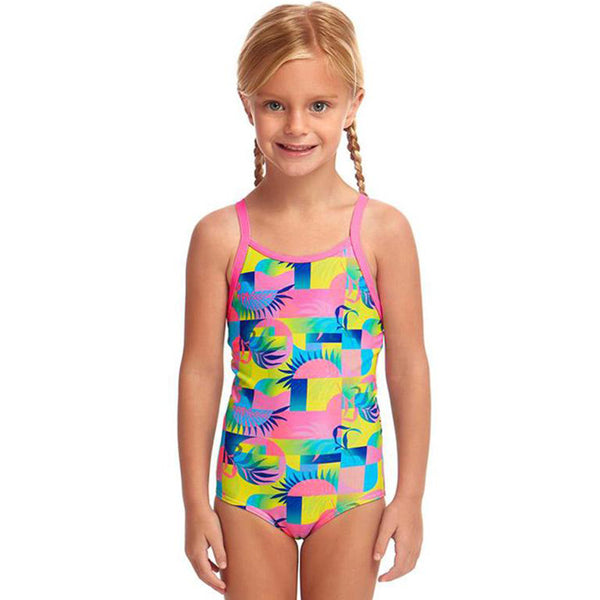 Funkita - Sunkissed - Toddler Girls Printed One Piece