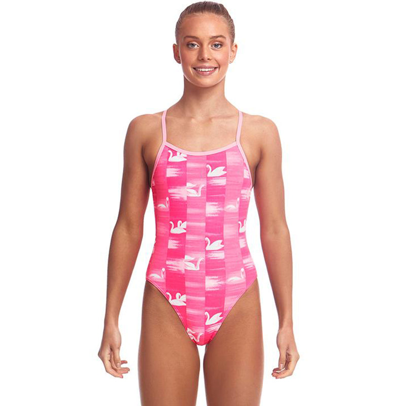 Funkita - Swan Lake - Girls Single Strap One Piece