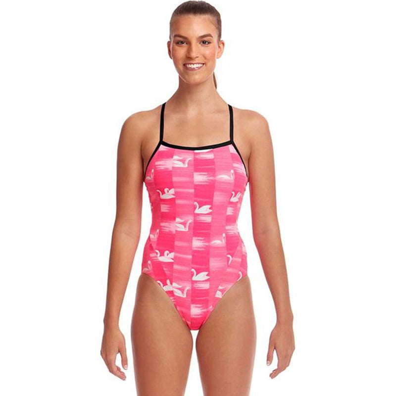 Funkita - Swan Lake - Ladies Single Strap One Piece