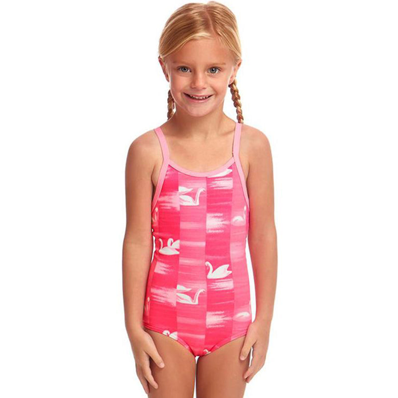 Funkita - Swan Lake - Toddler Girls Printed One Piece