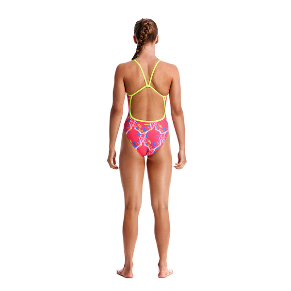 Funkita - Sweet Skulls - Girls Single Strap One Piece