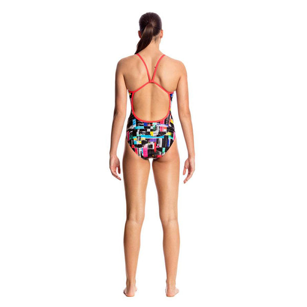 Funkita - Test Signal - Ladies Single Strap One Piece