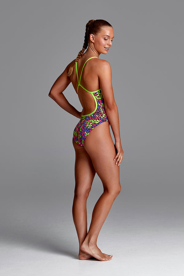 Funkita - The Fall - Girls Single Strap One Piece