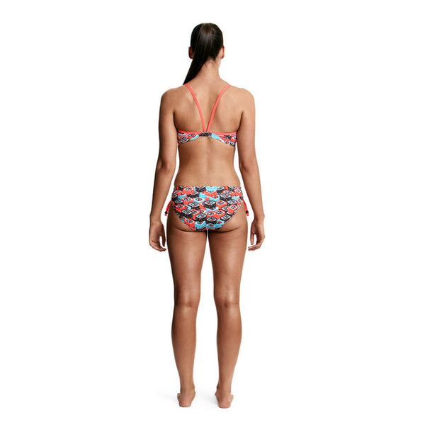Funkita - Sushi Training - Ladies Tie Detail Top - Aqua Swim Supplies