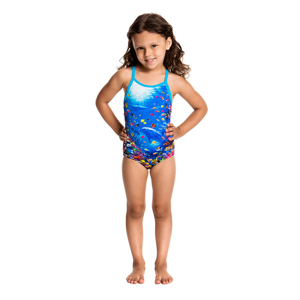 Funkita - Fantasy Reef - Toddelrs Printed One Piece