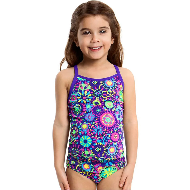 Funkita - Chelsea Flower - Toddlers Girls Tankini & Brief