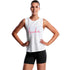 Funkita - White Scribble - Ladies Hank The Tank Top