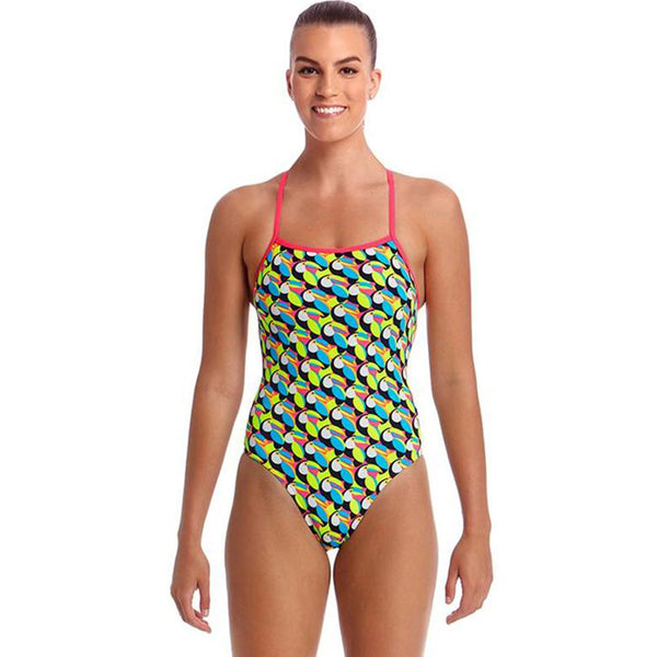 Funkita - Toucan Do It - Ladies Eco Strapped In One Piece