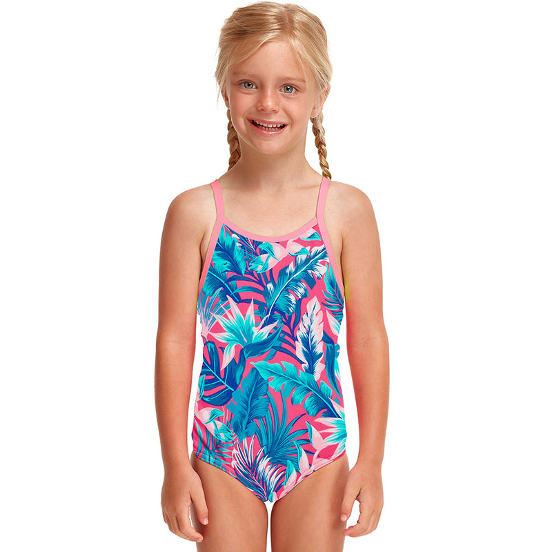 Funkita - TropFest - Toddler Girls Eco Printed One Piece