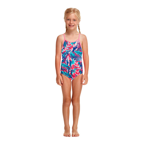 Funkita - TropFest - Toddler Girls Printed Eco Tankini & Brief